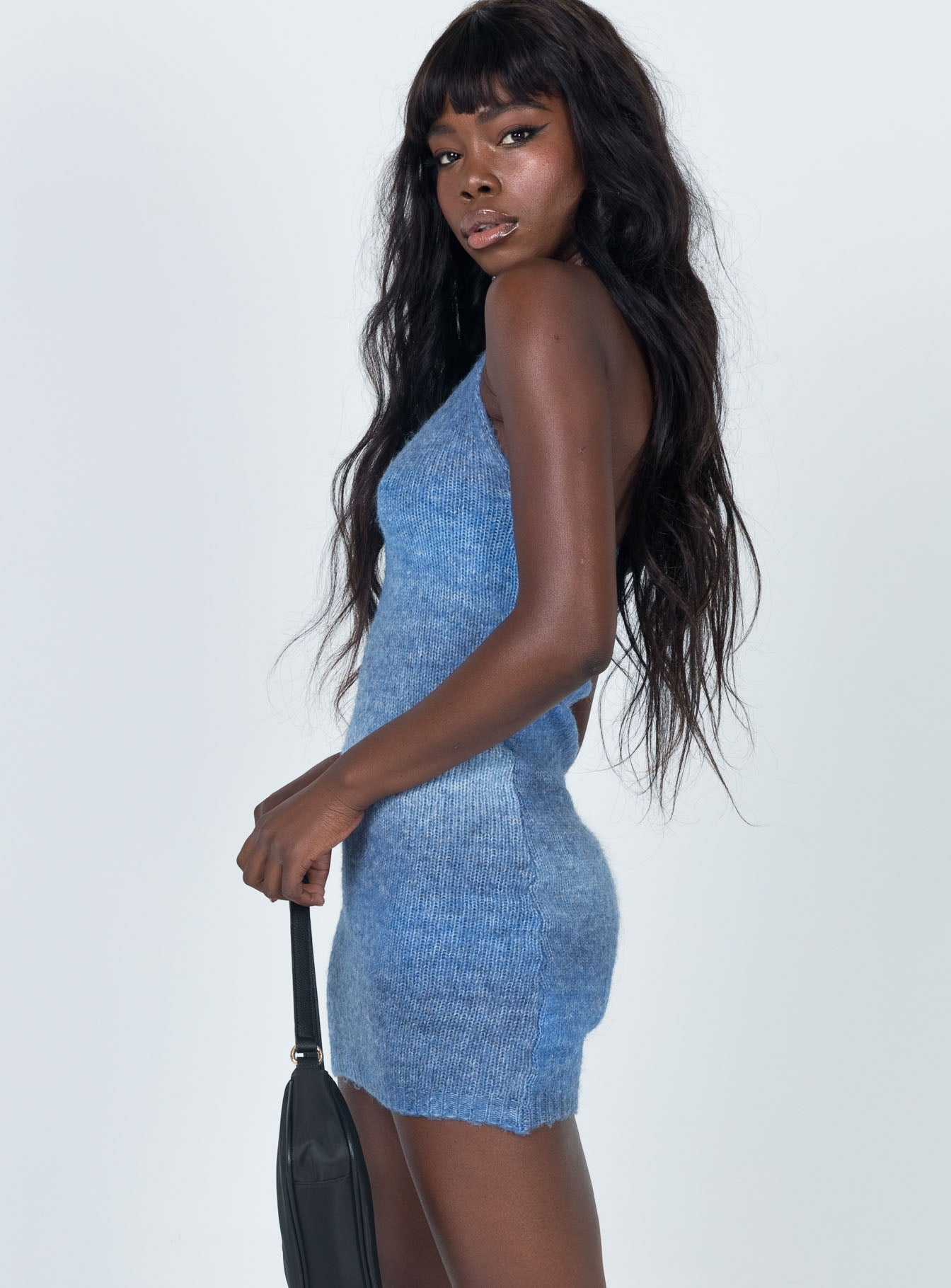 Blair Mini Dress Blue