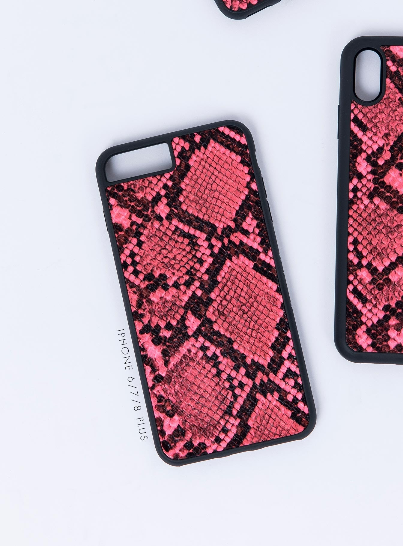 Georgia Mae Neon Snakeskin Phone Cover