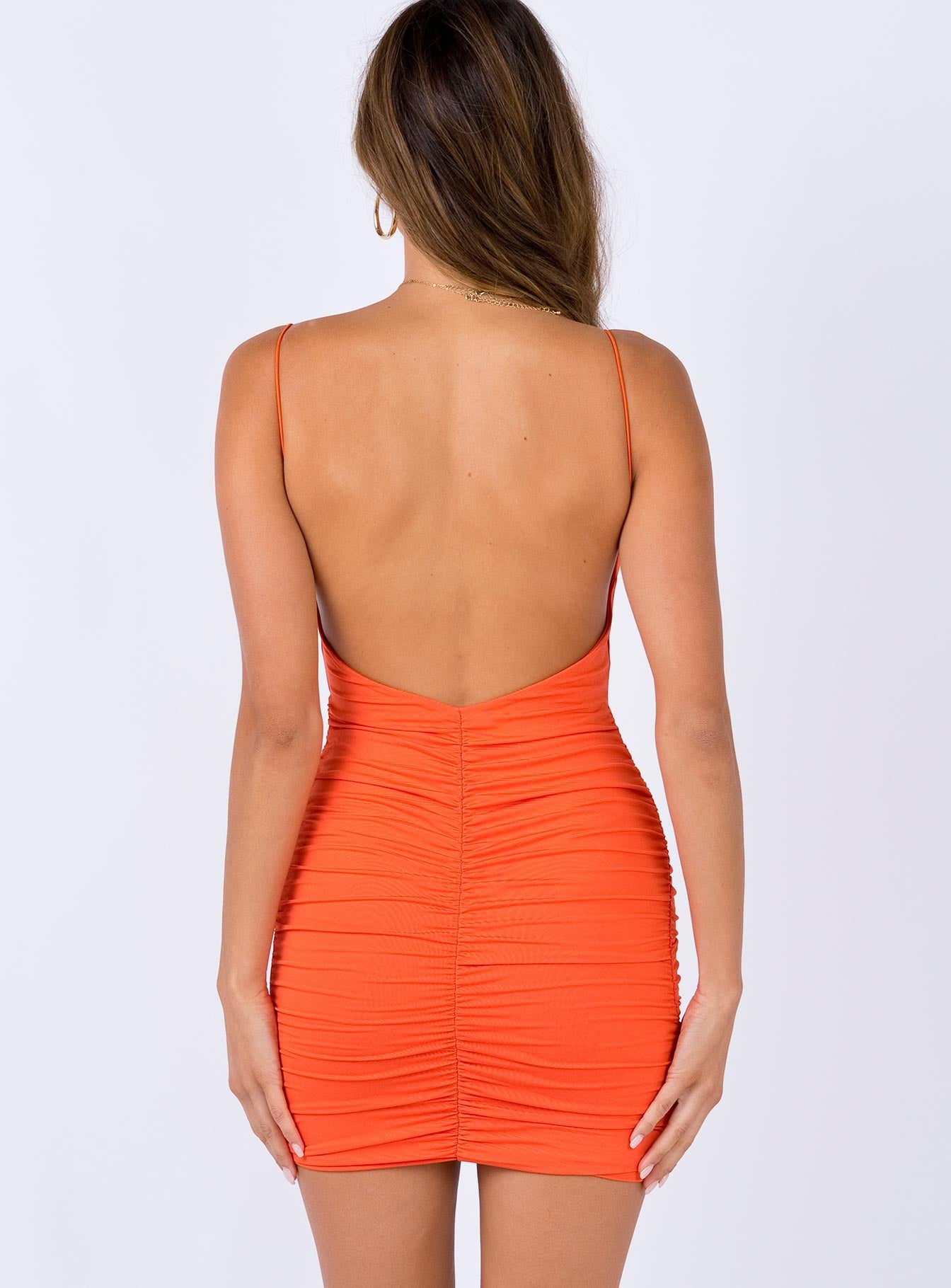 Santus Mini Dress Orange