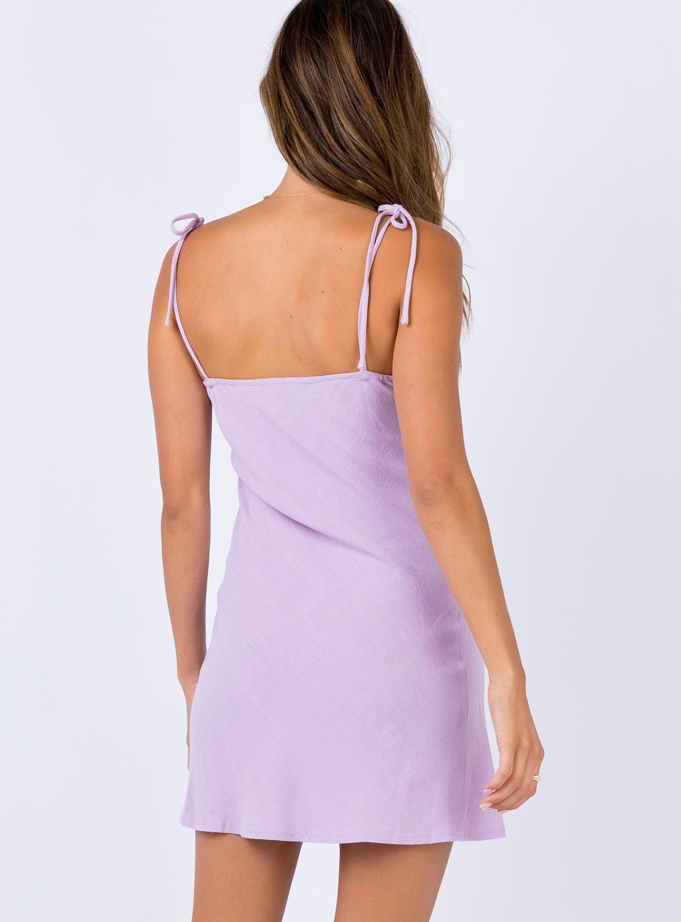 Innocence Mini Dress Lilac