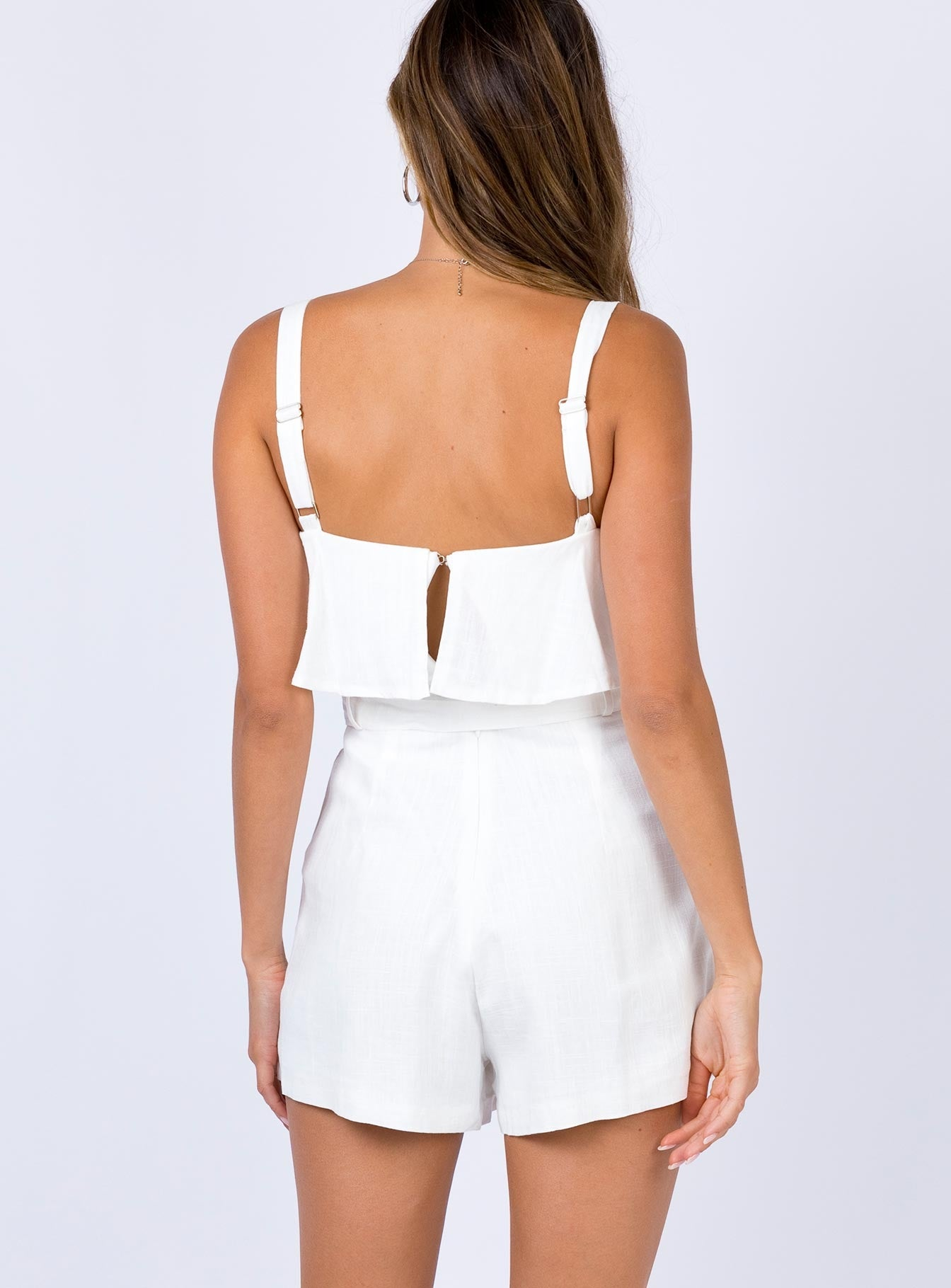 Brackley Playsuit White