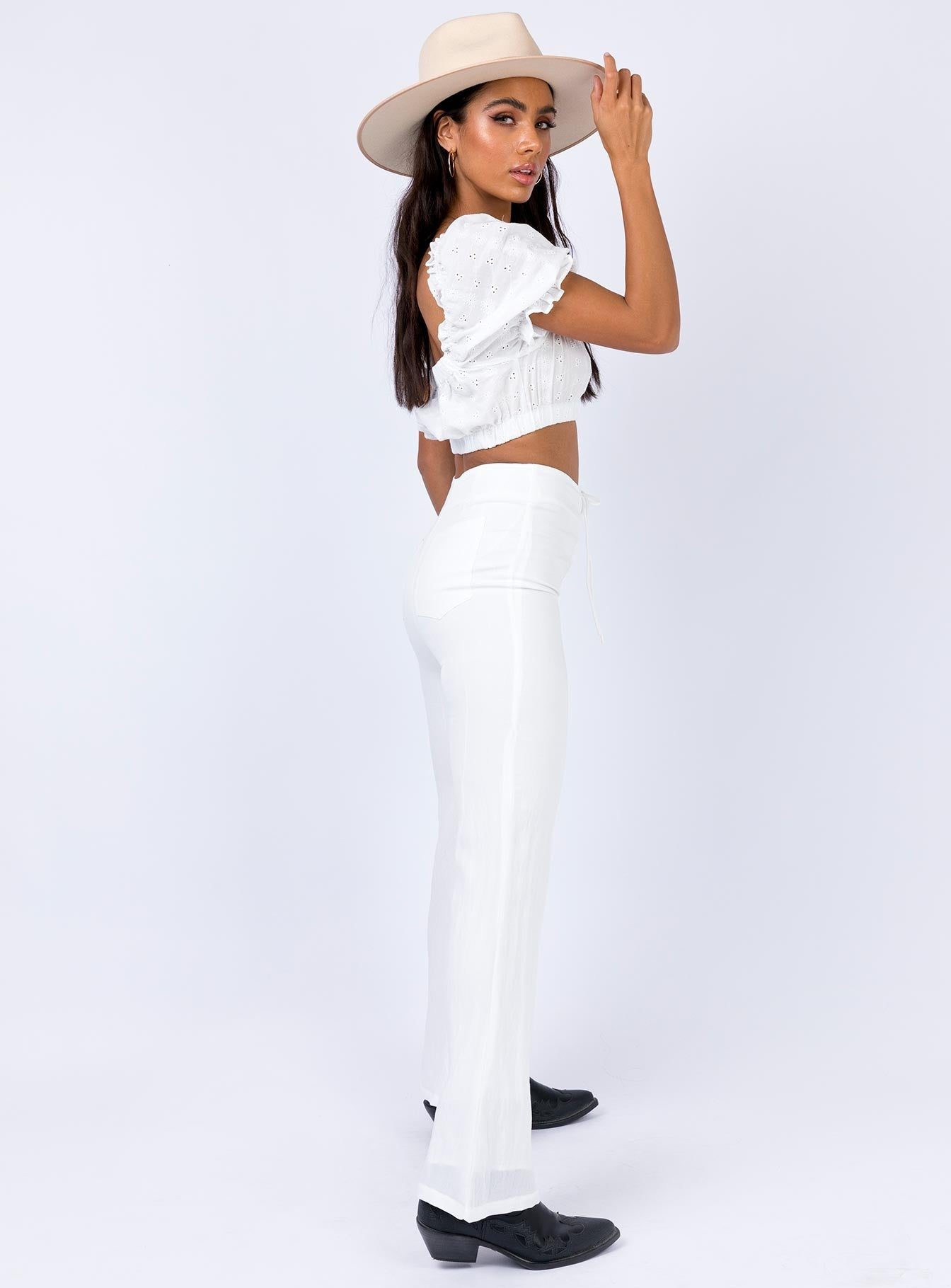 Sundown Pants White