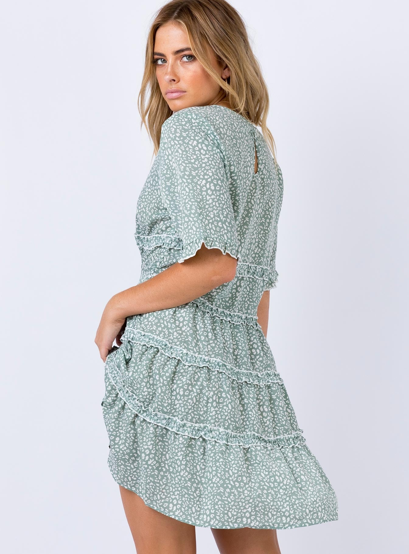 Candice Mini Dress Sage