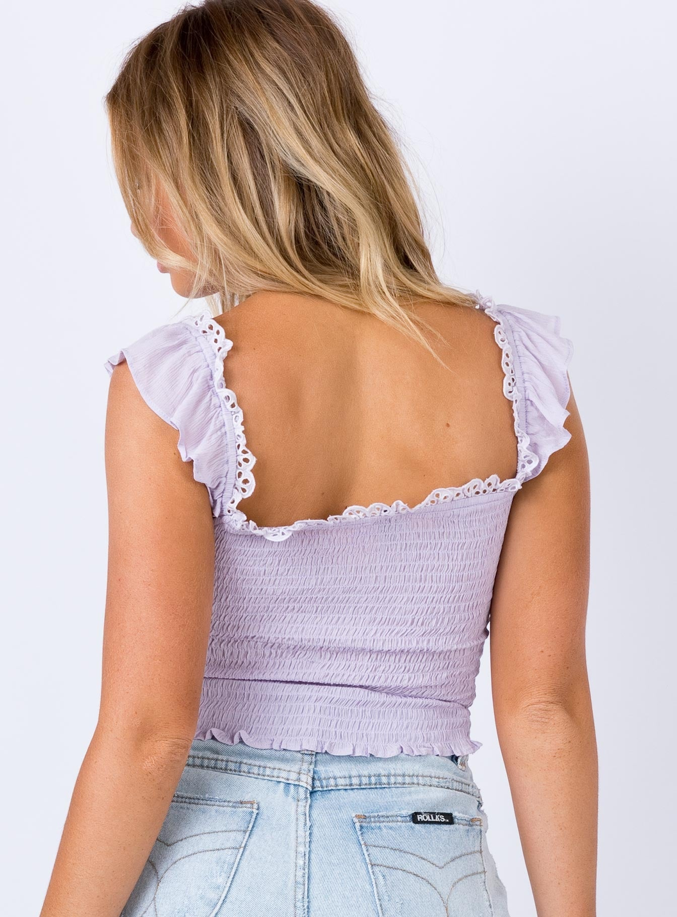 The Chet Top Lilac