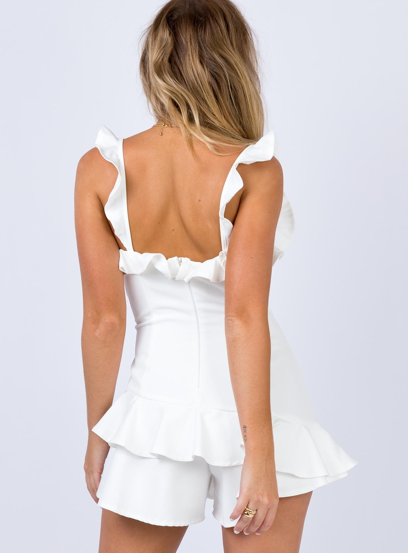 Osterman Playsuit White