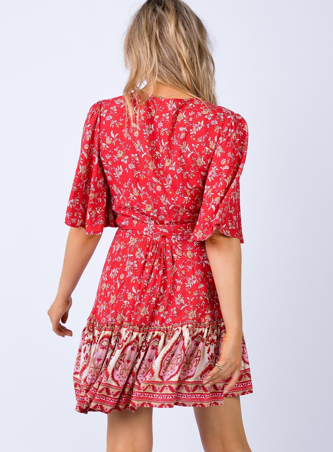 Selma Mini Dress Red