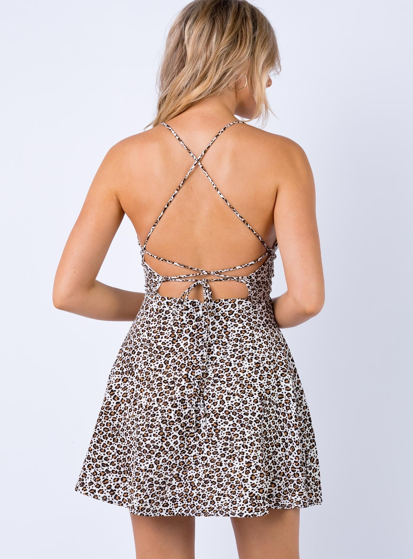 Tarcutta Mini Dress Leopard