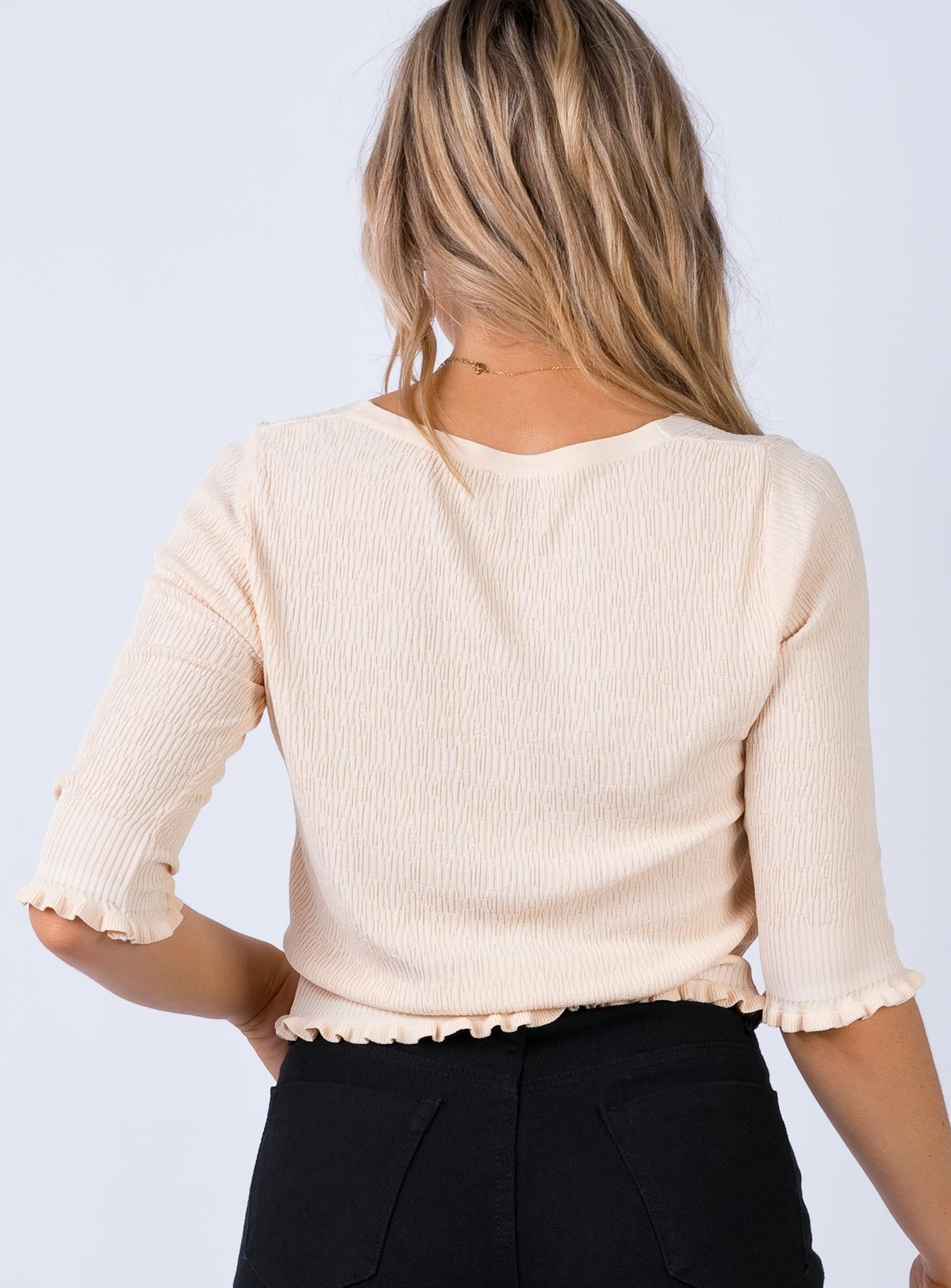 Desmond Top Beige