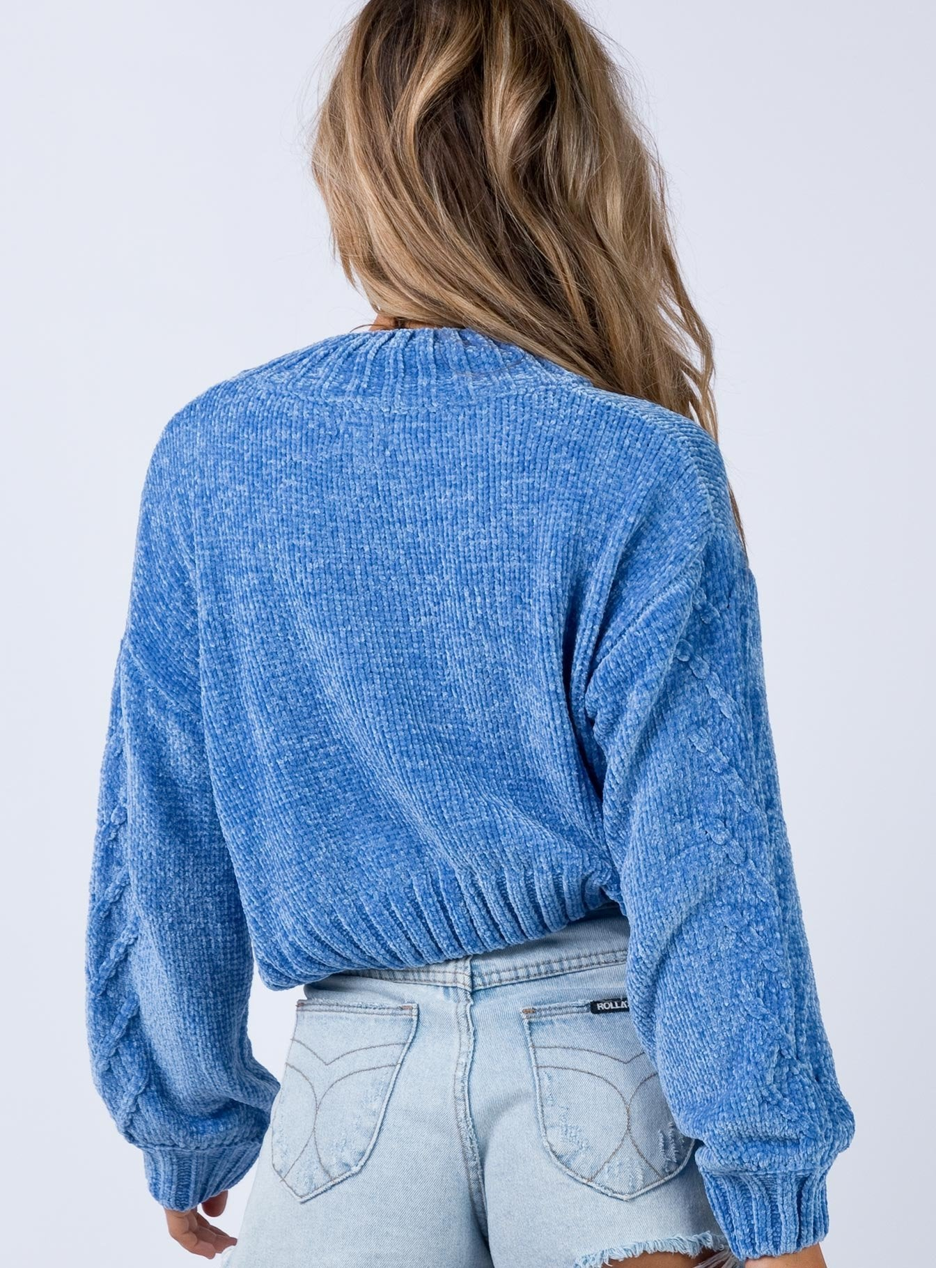 Rainy Nights Jumper Blue