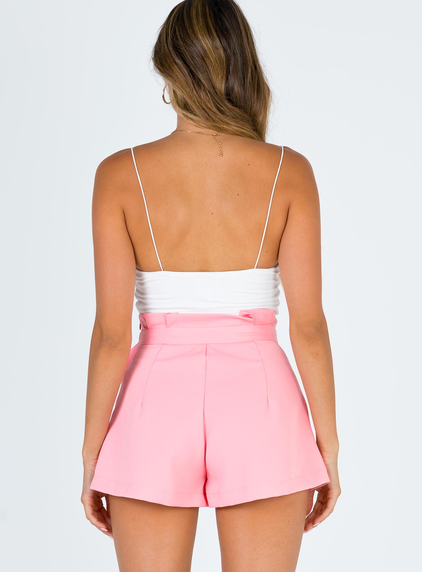 I Need You Shorts Pink