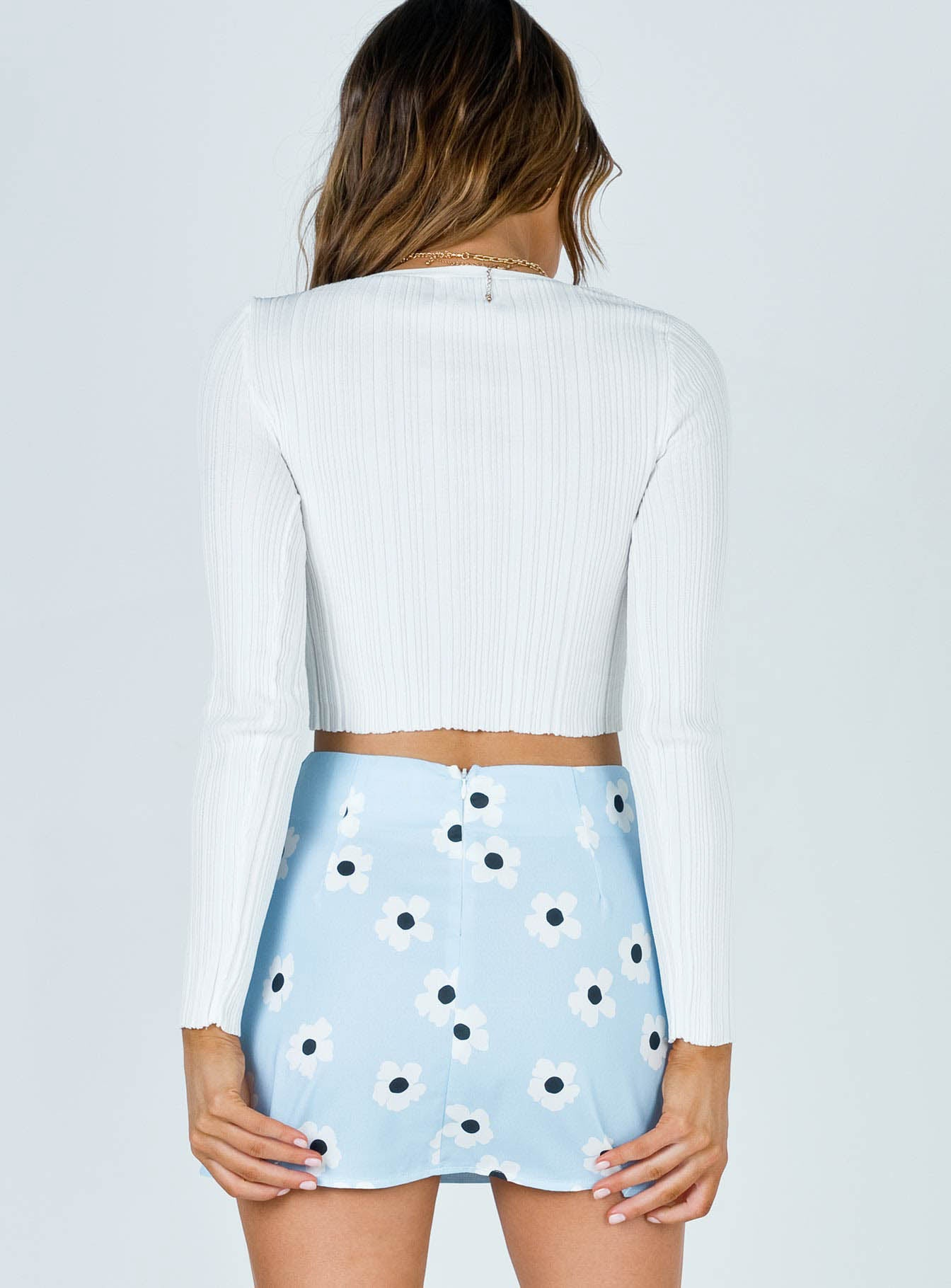 Shelly Mini Skirt Blue