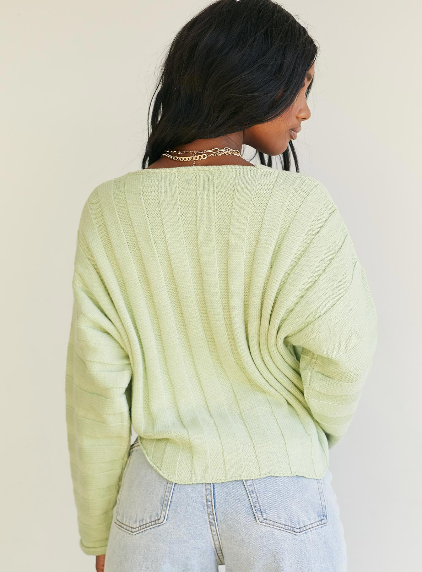 Natalie Sweater Green