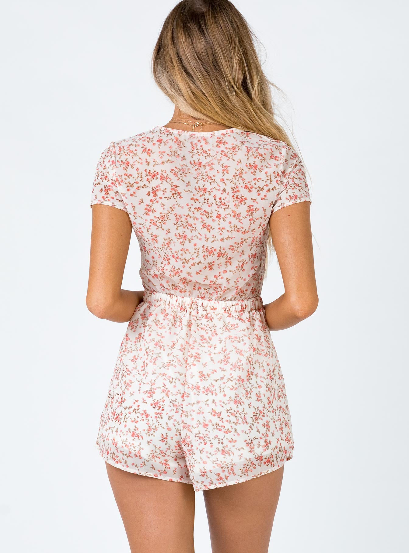 Sweet Sahara Floral Playsuit