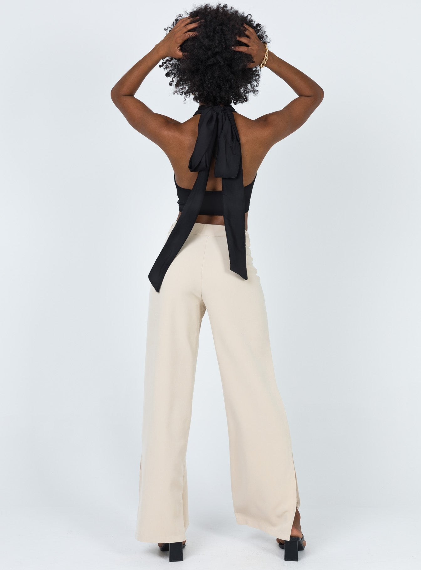 Beverly Hills Pants Beige
