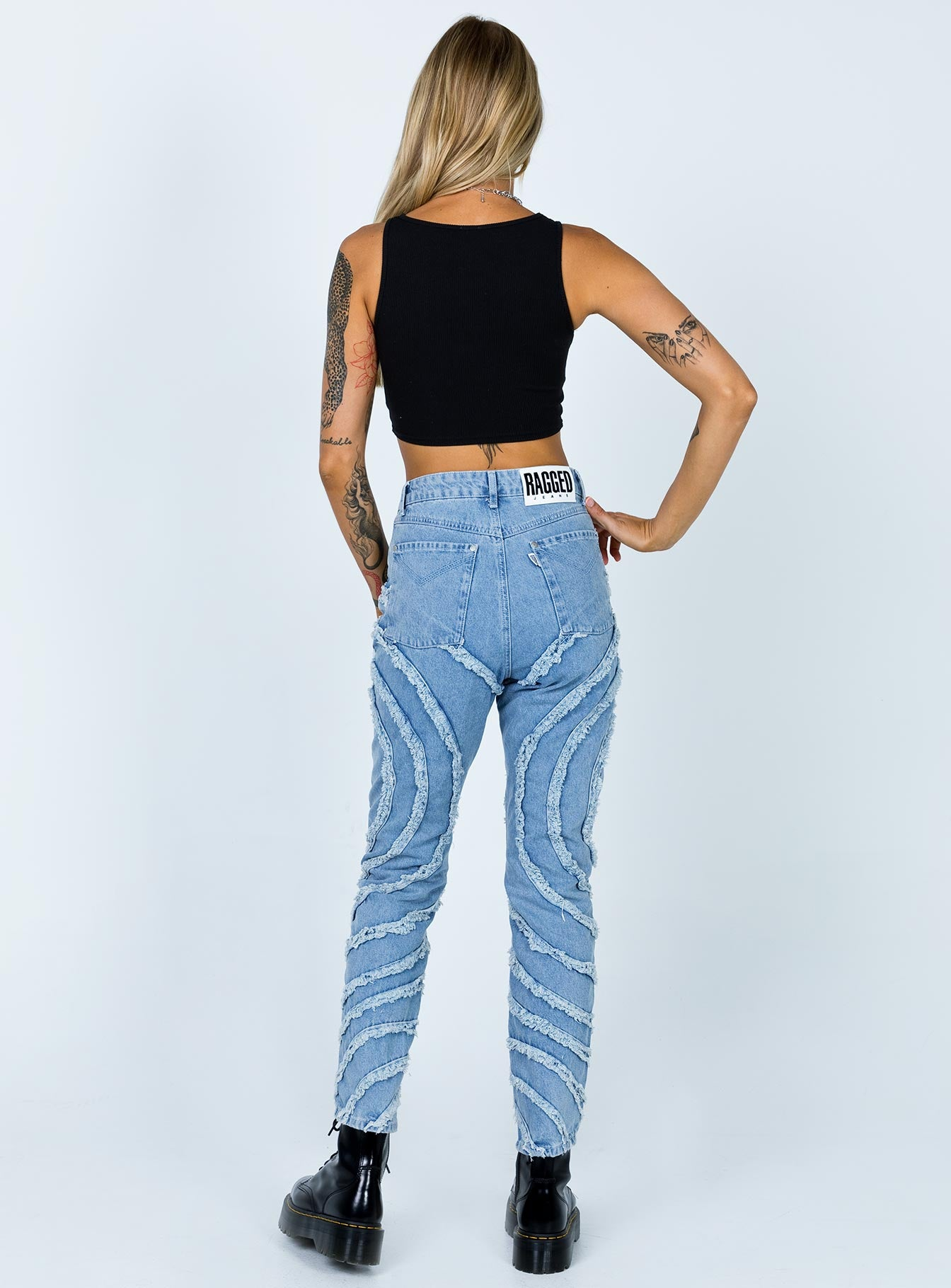 The Ragged Priest Gaze Jeans Denim