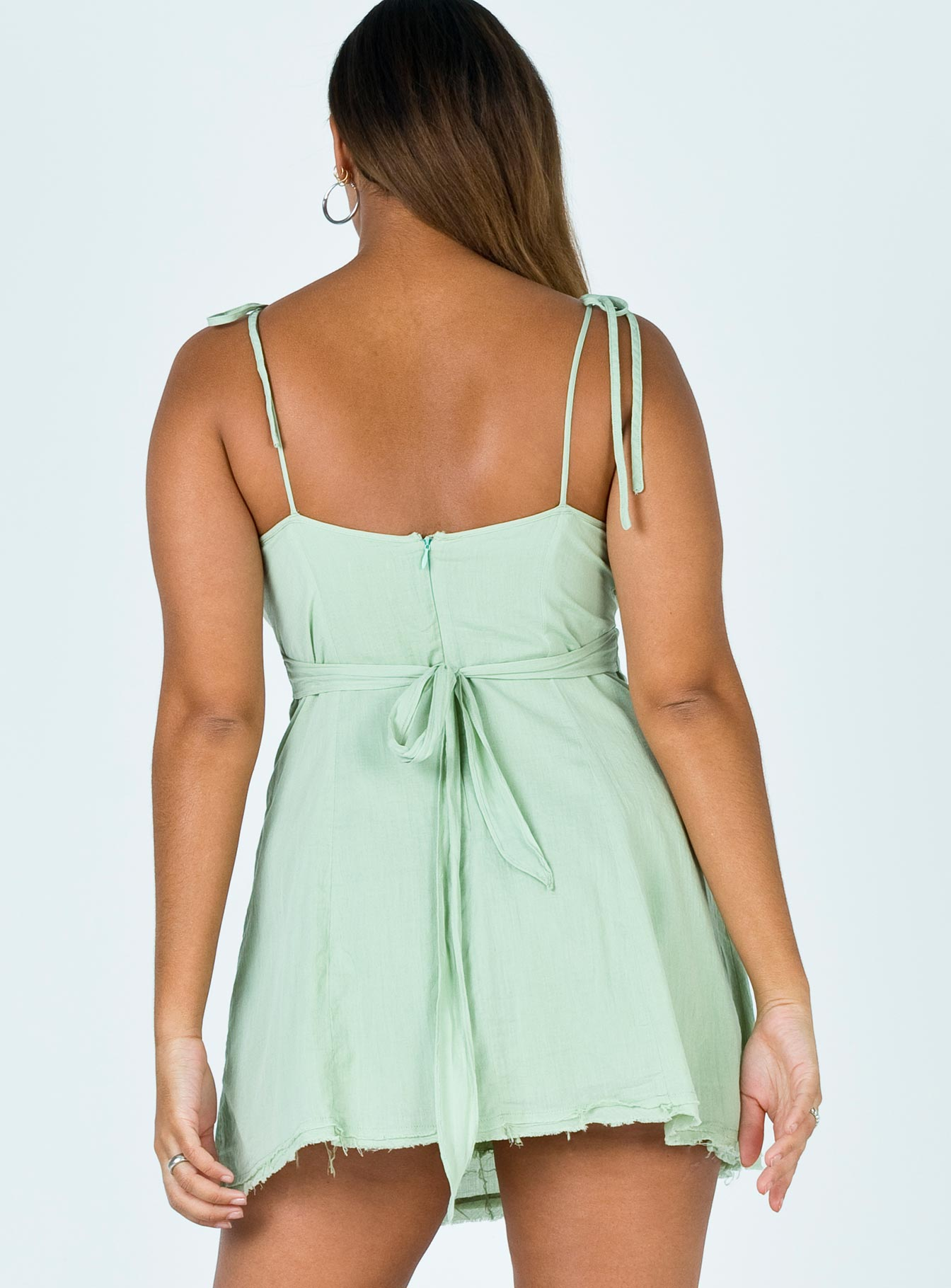 Kaysey Mini Dress Green