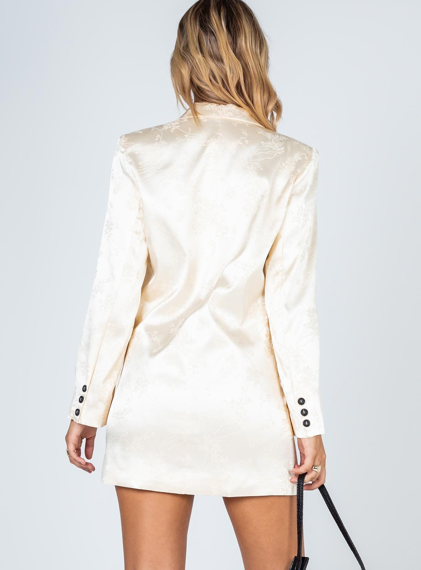 Moulin Rouge Blazer Dress Cream