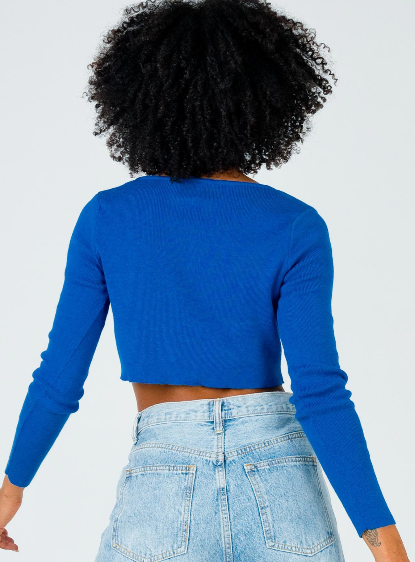 The Michael Top Blue