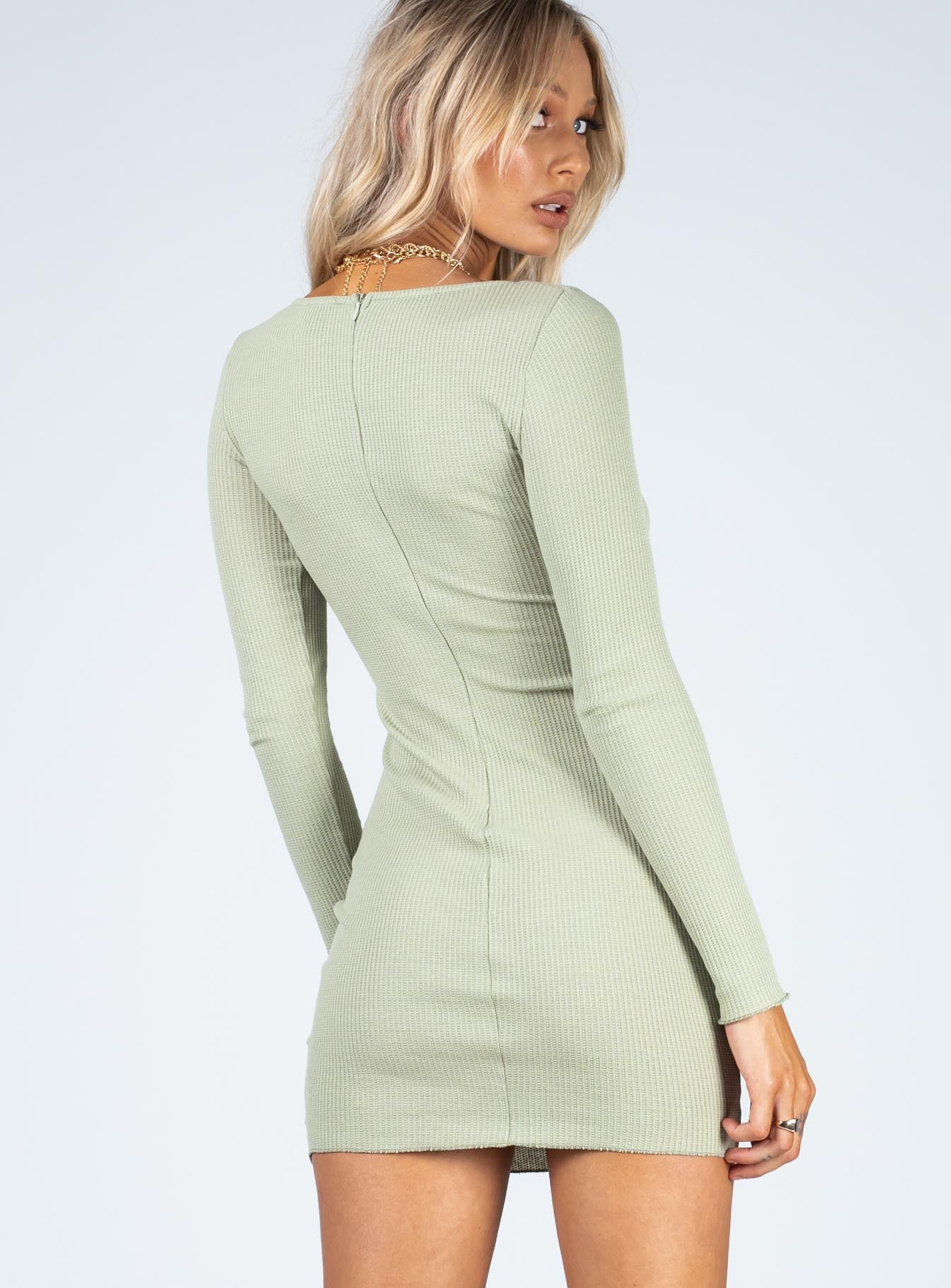 Millie Mini Dress Green