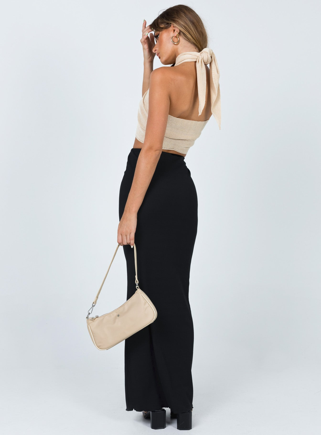 Simone Maxi Skirt Black