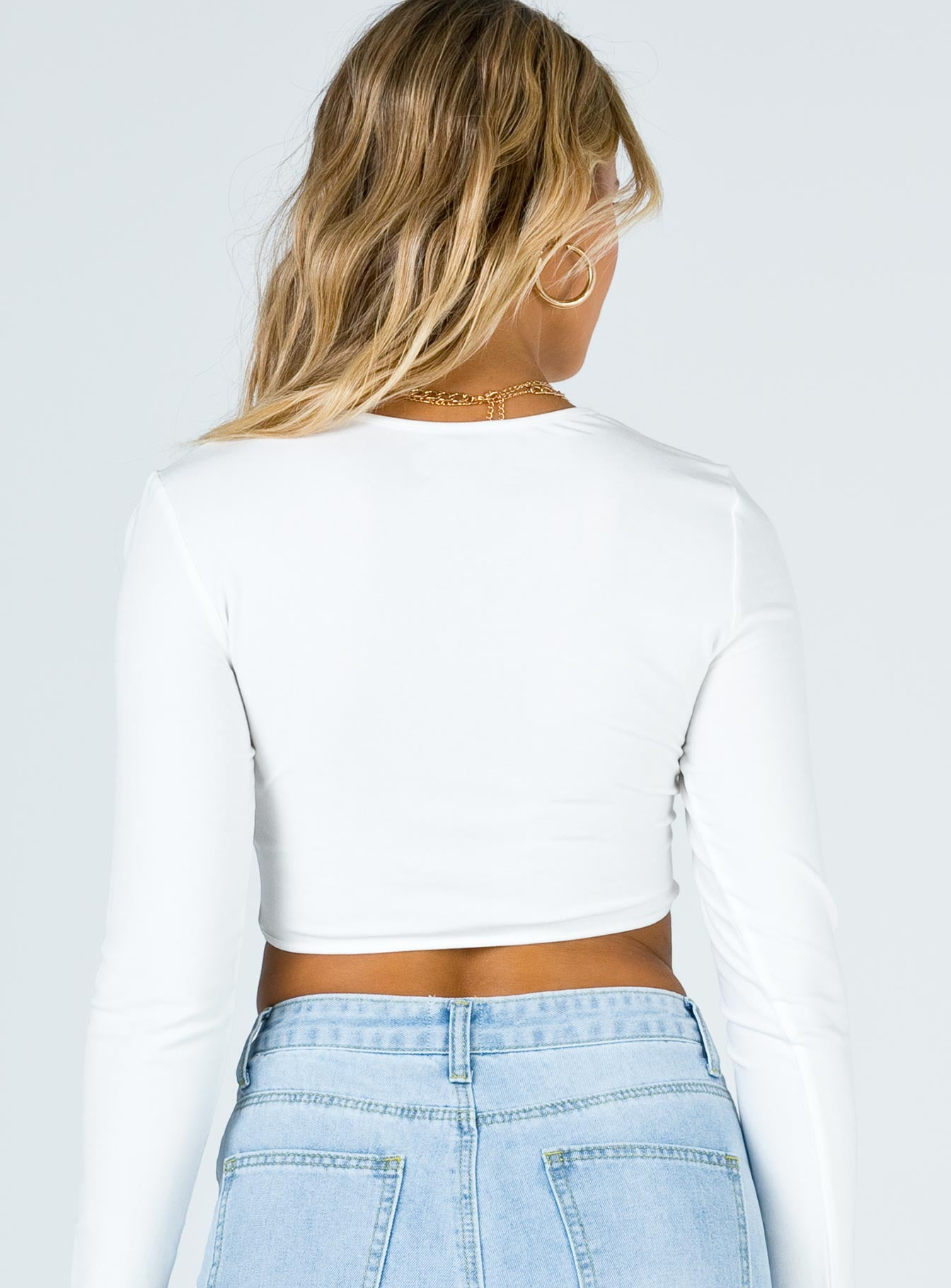 Deeper Love Top White