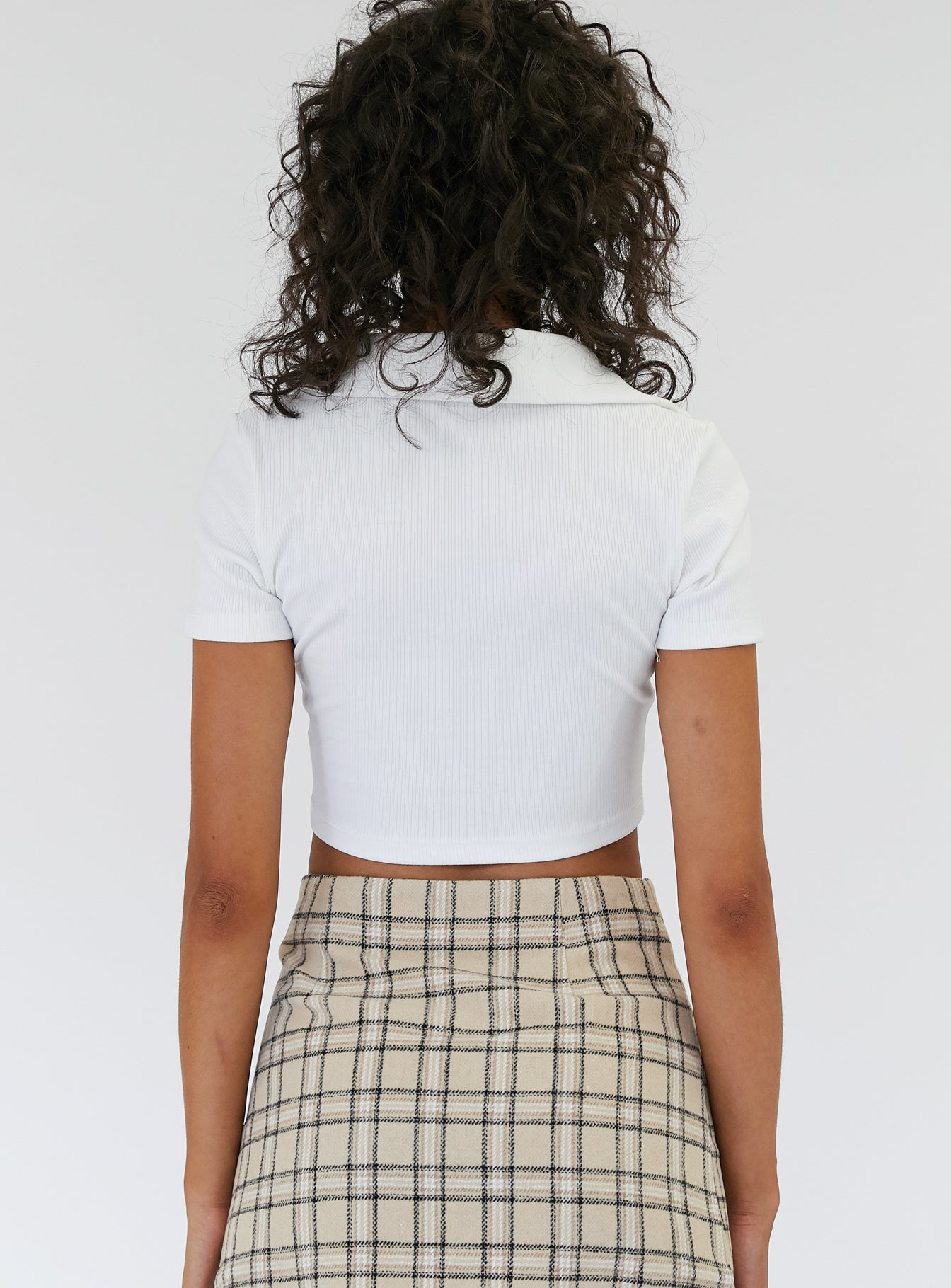 Albany Top White