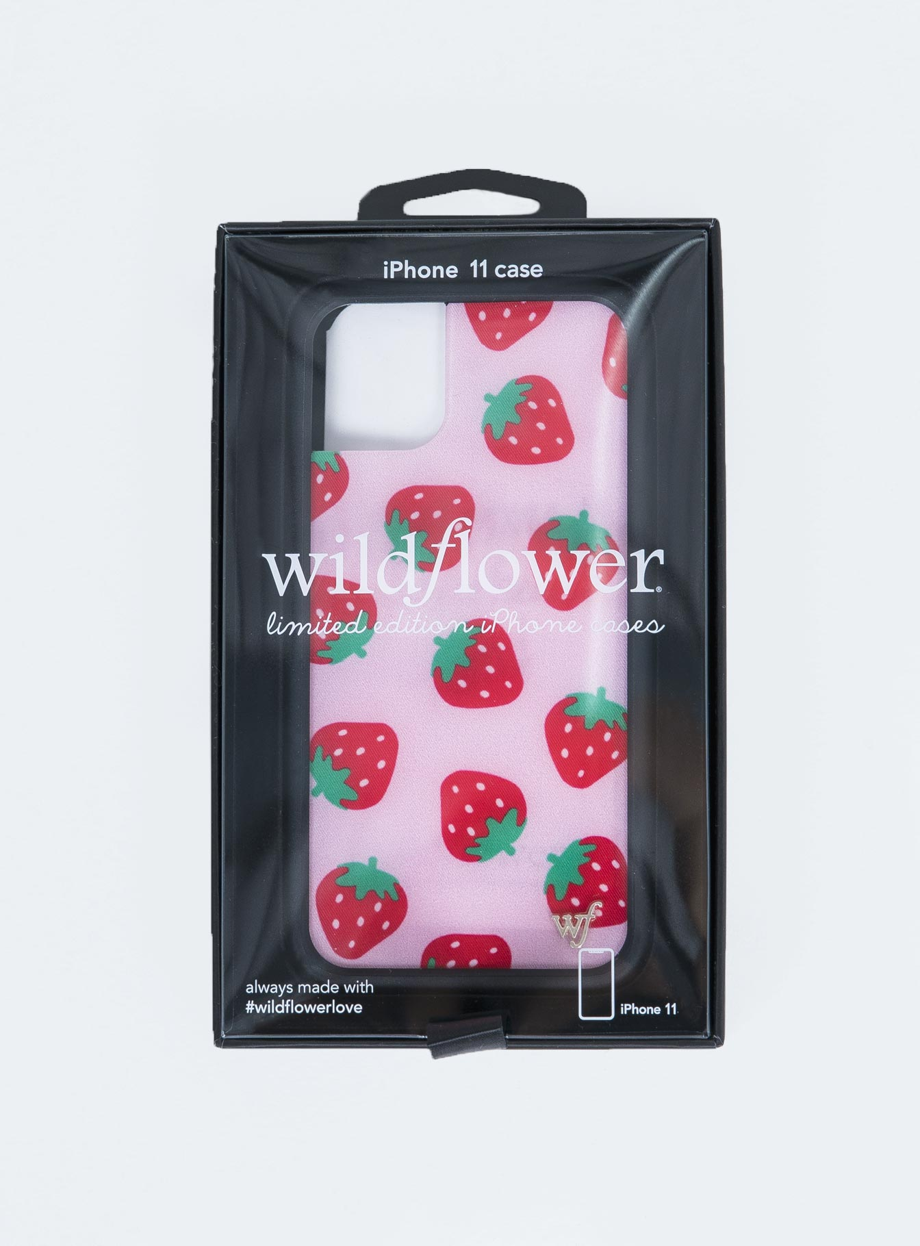 Wildflower Strawberries iPhone 11 Case