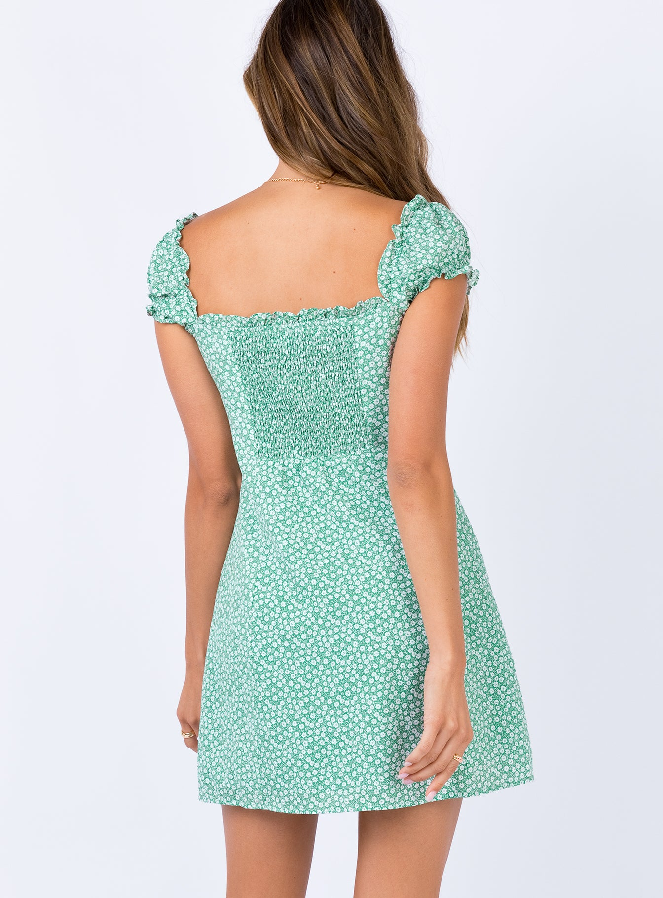 Jexica Mini Dress Mint