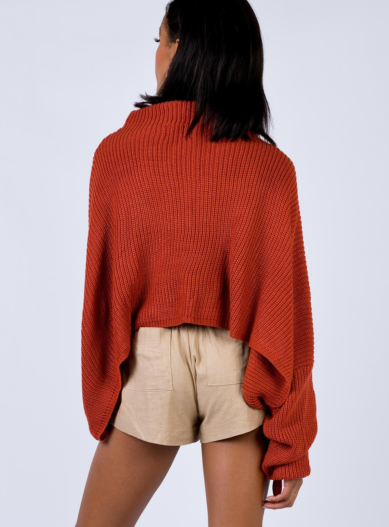 Randall Sweater Rust