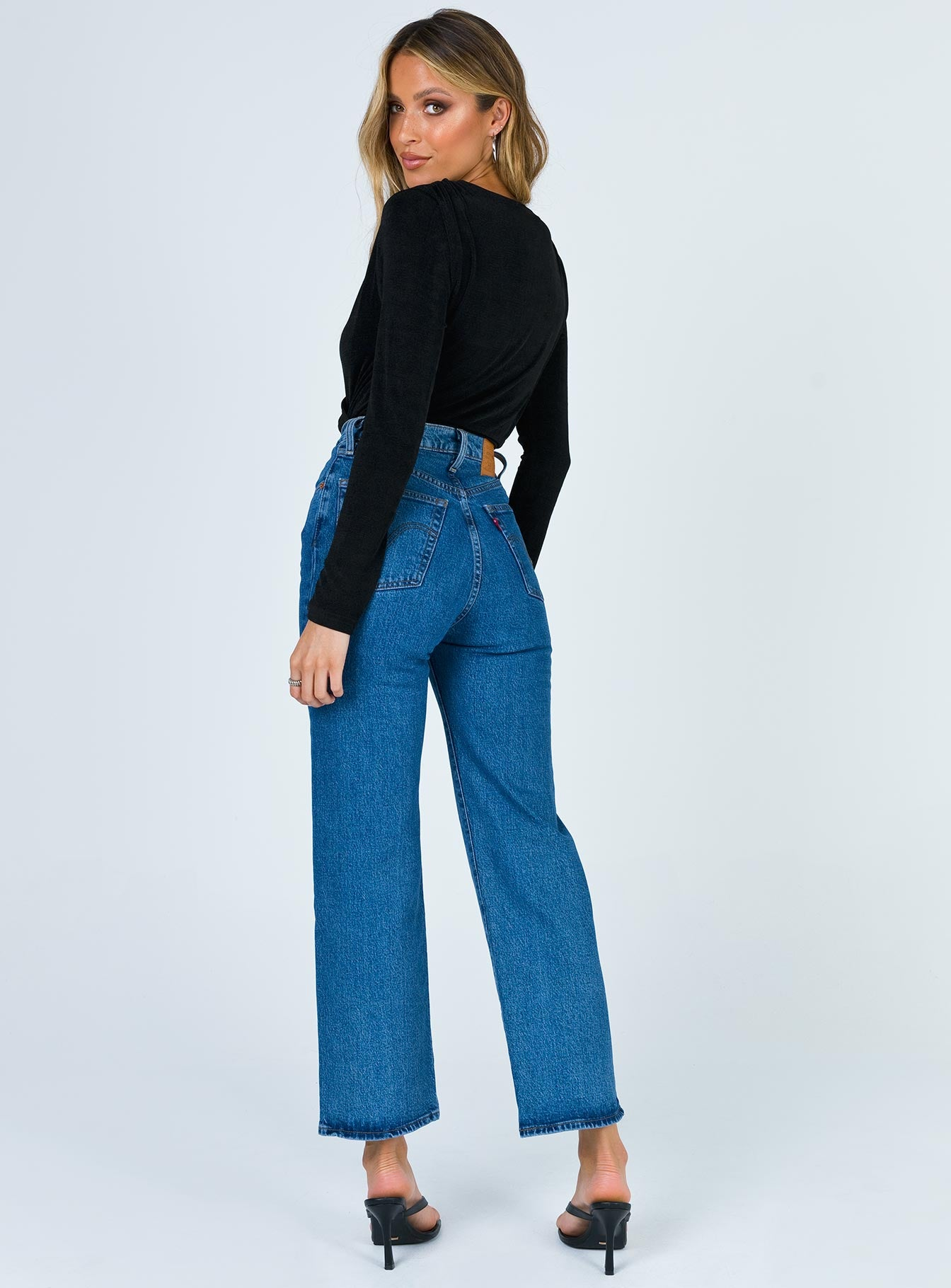 Levi's Ribcage Straight Ankle Georgie Jeans
