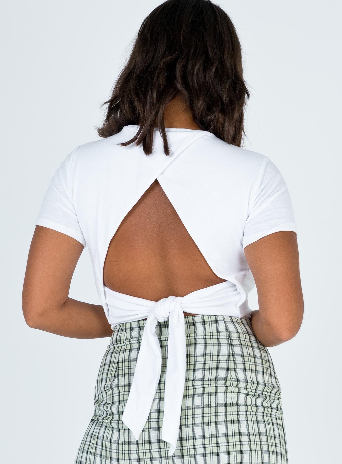 Minkpink Open Back Tee