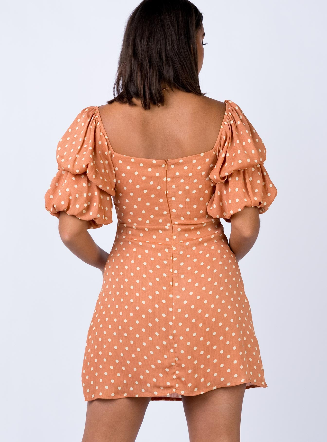 Cento Mini Dress Terracotta