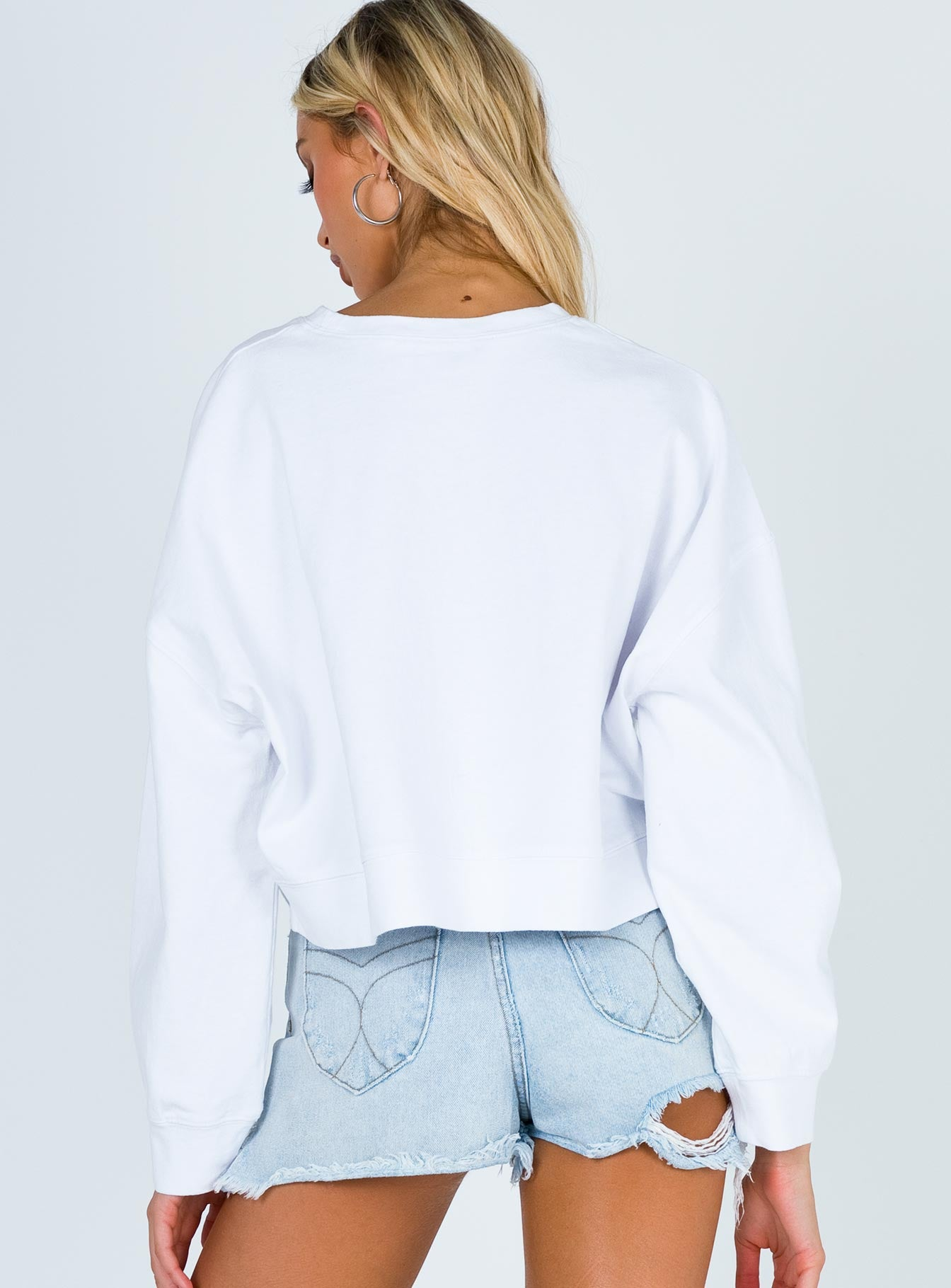 TWIIN Ambush Crop Sweater