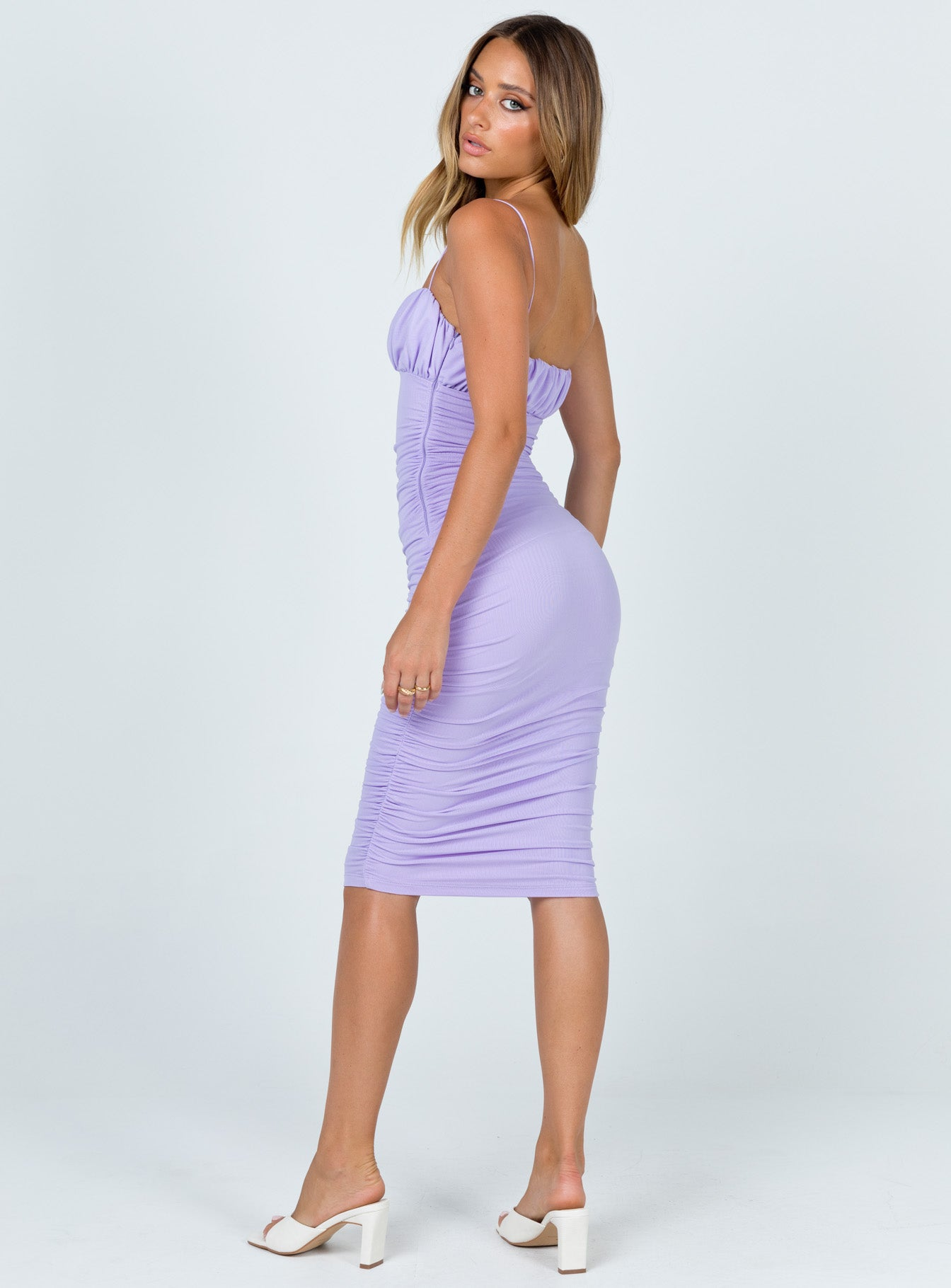 Penney Midi Dress Purple