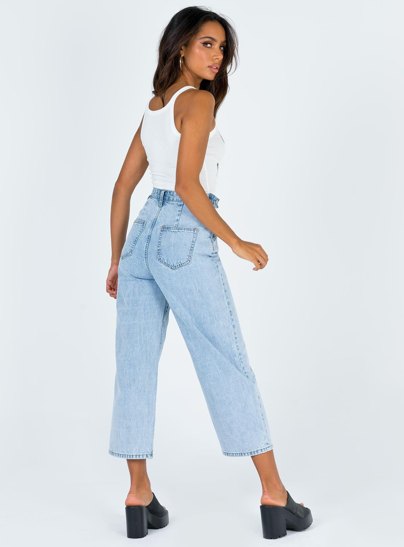 Xenia Jeans Light Wash