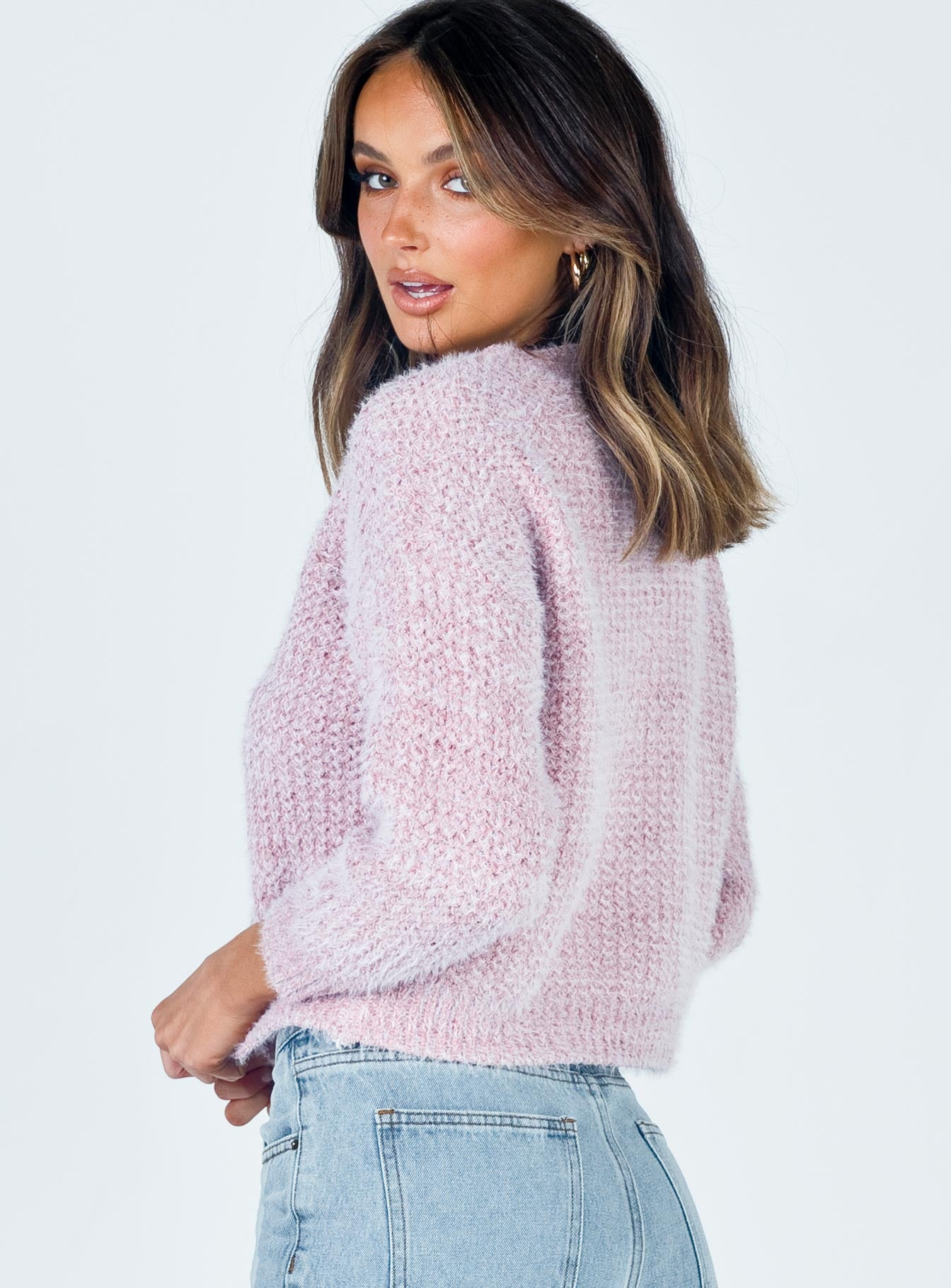 Taliah Sweater Pink