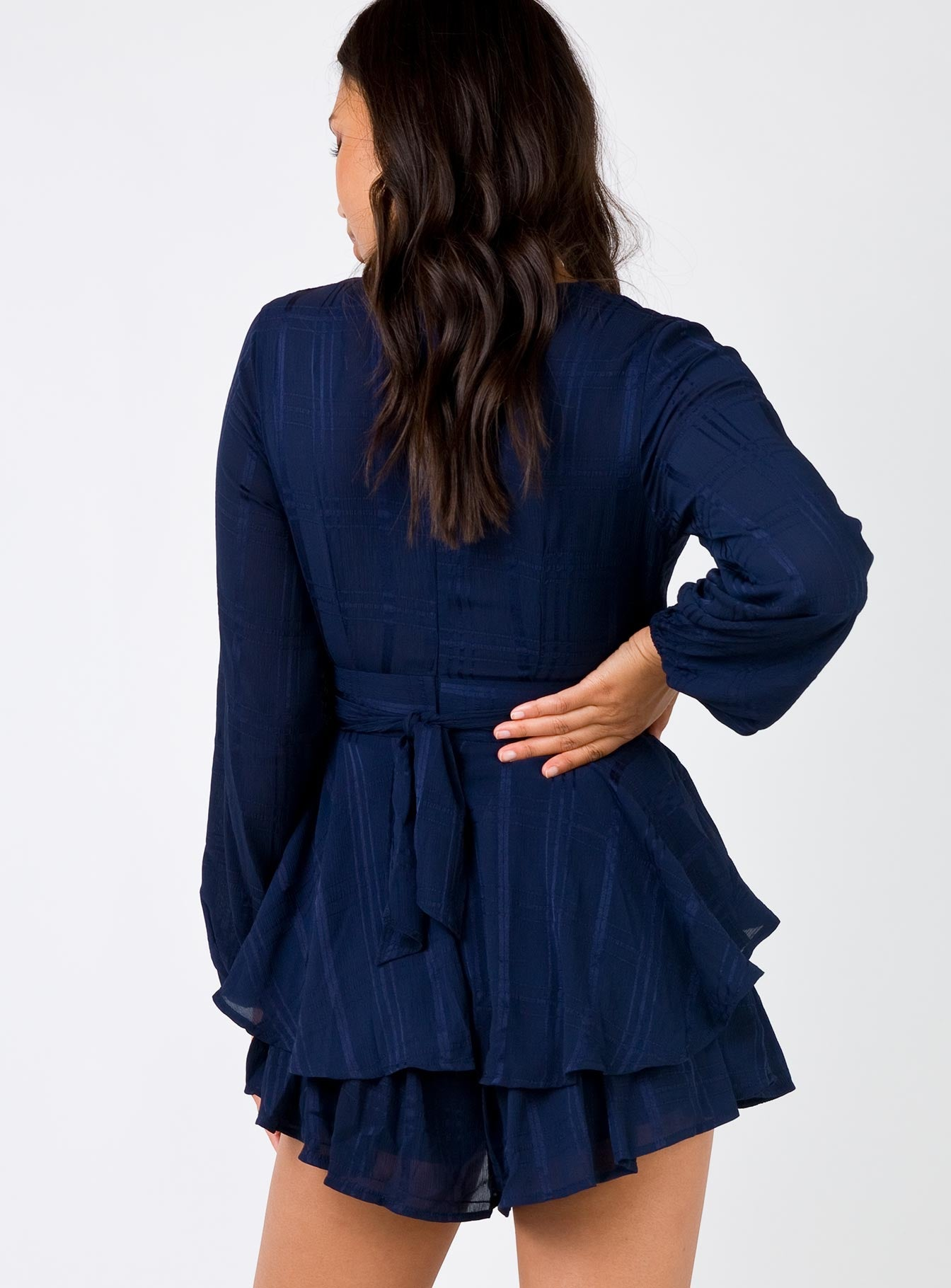 String Of Stars Playsuit Navy