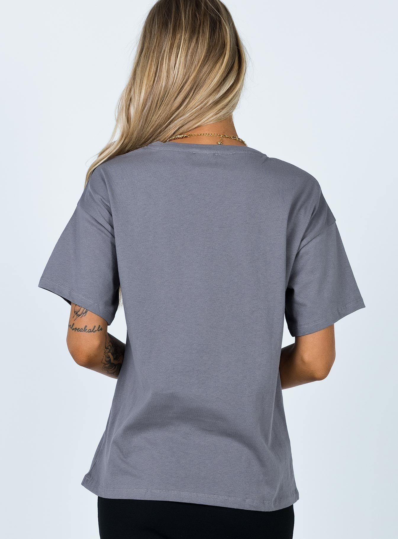 Like the Wind Graphic Tee Grey