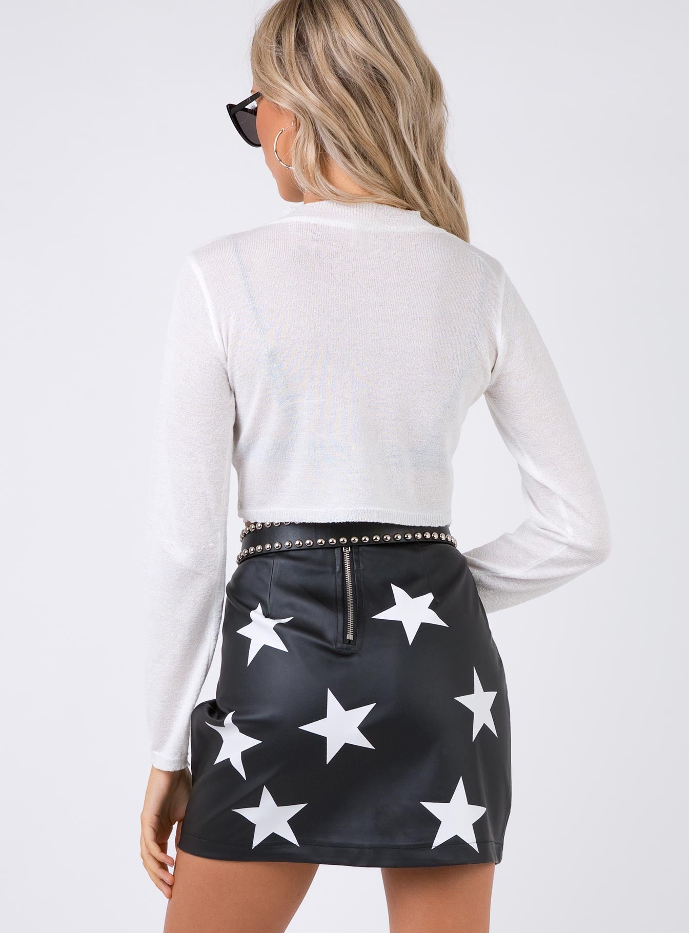 Starboy Mini Skirt Black