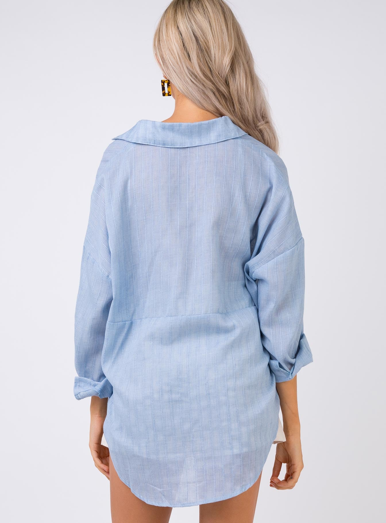 Summer Sandbar Top Blue