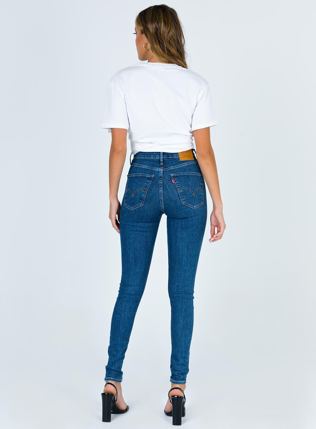 Levi's Mile High Super Skinny Tempo So Stoned Jeans