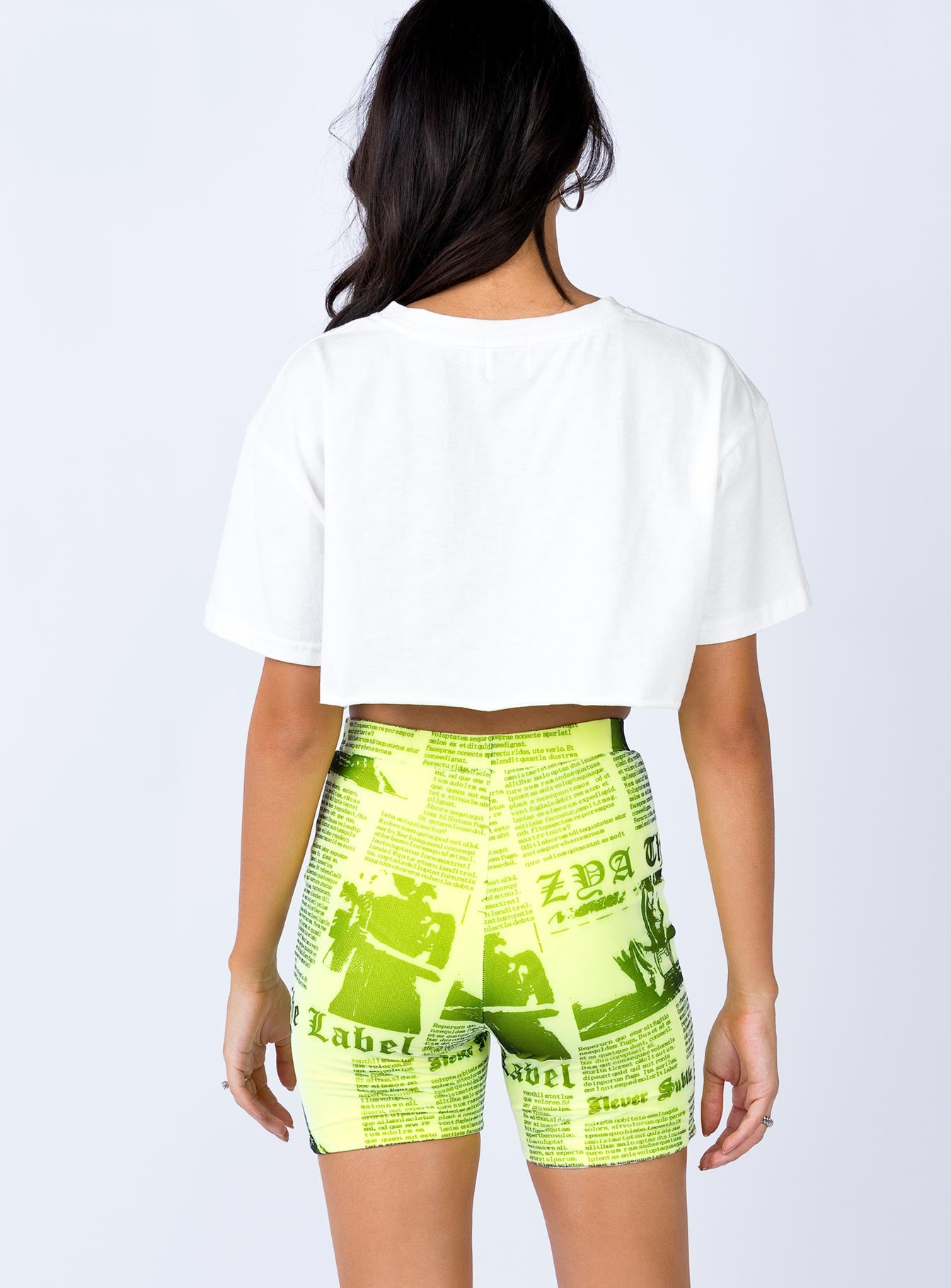 Odyseey Shorts Neon Yellow