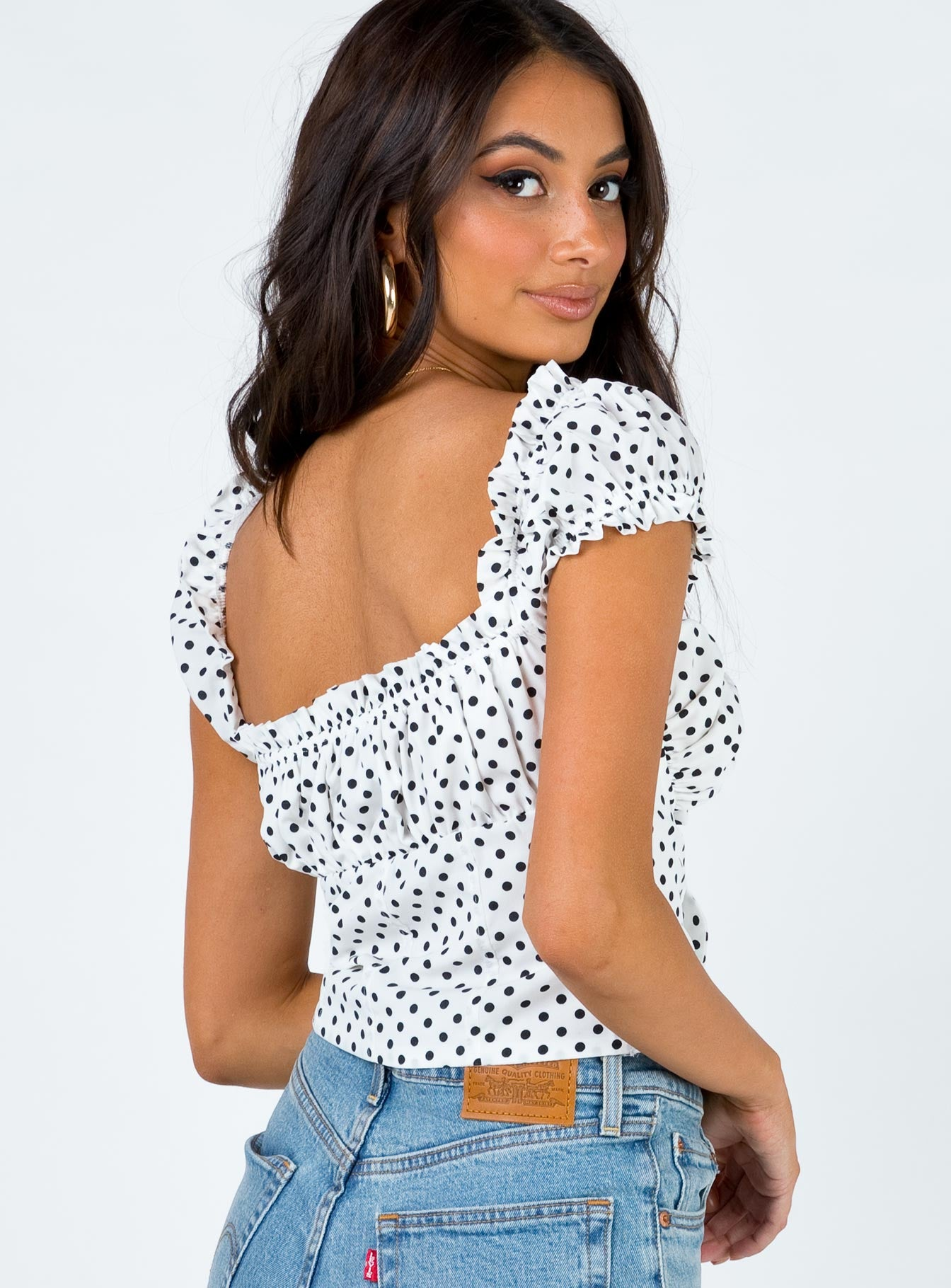 Elouise Crop Top Spot
