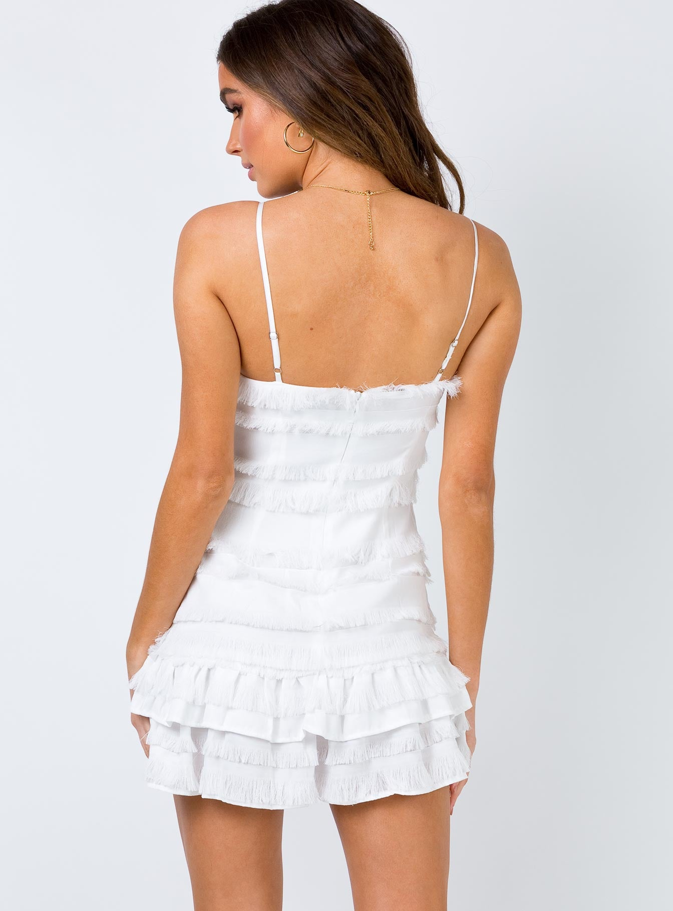 Molina Mini Dress White