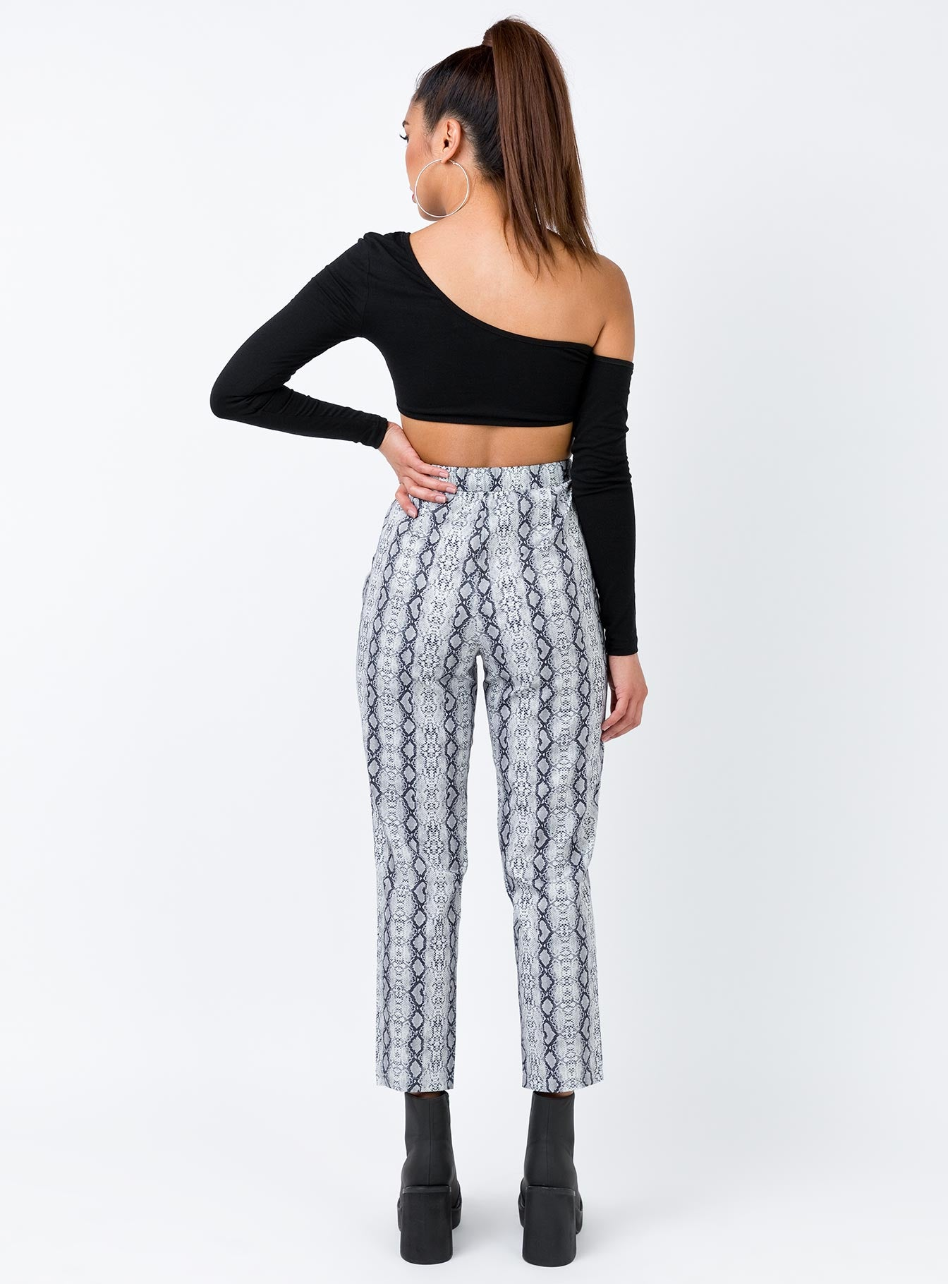 Serpent Edge Pants Snakeskin