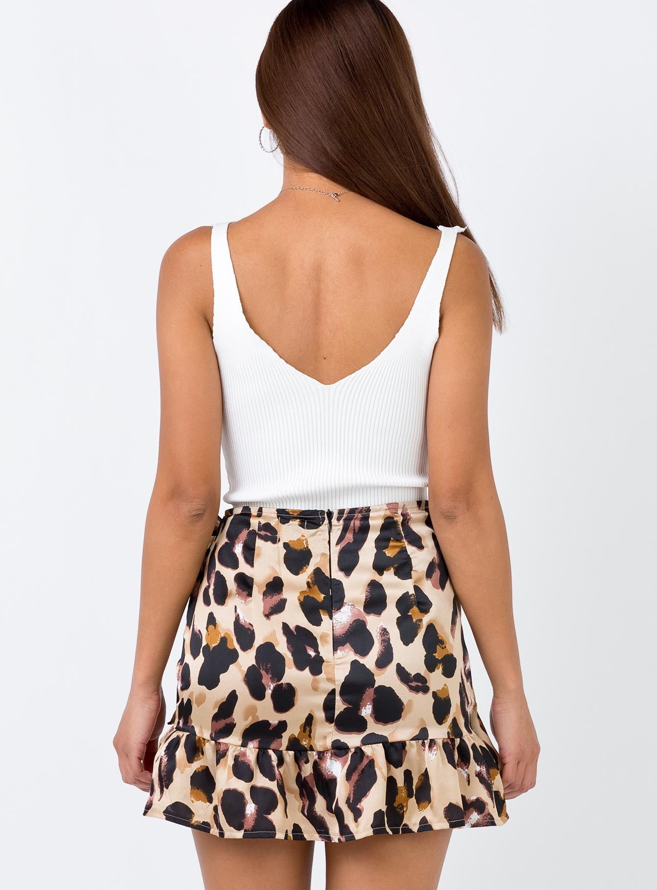 Ginuwine Mini Skirt Leopard