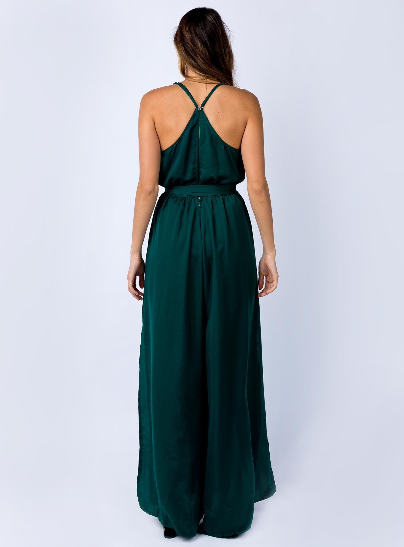 Eirene Jumpsuit Forest Green