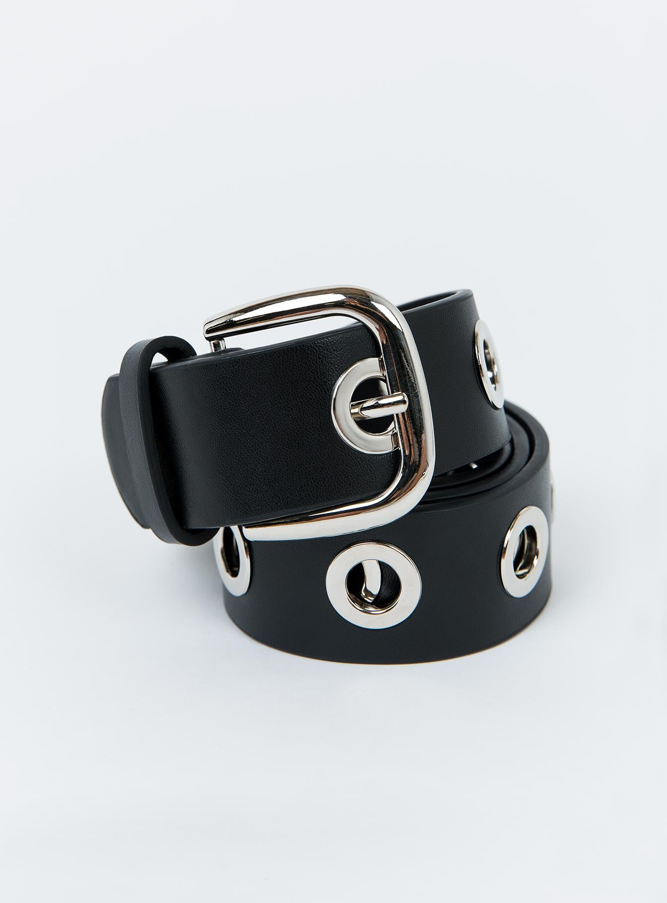 Smokestack Eyelet Belt Black
