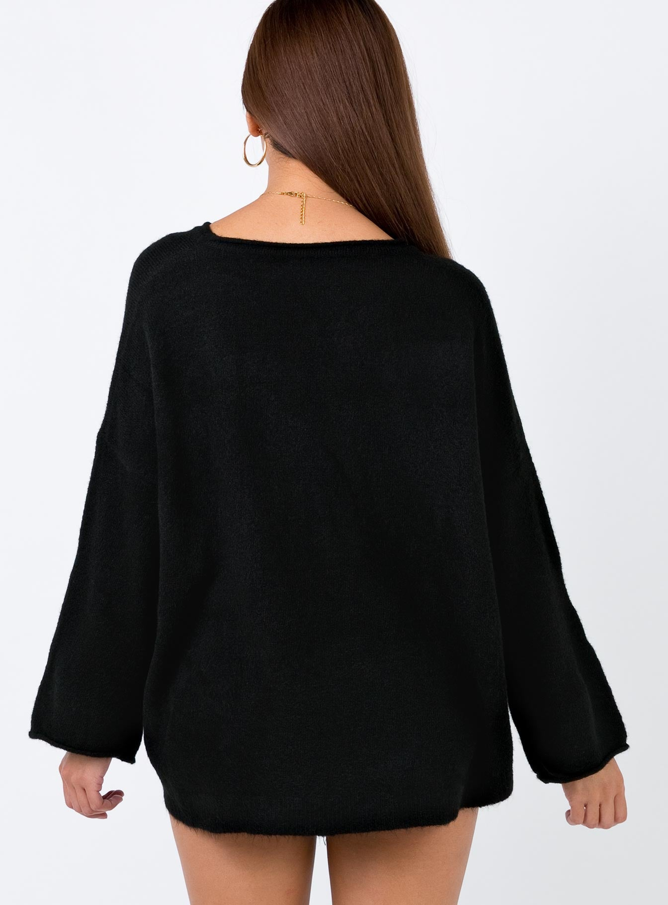 Snuggle Up Jumper Black