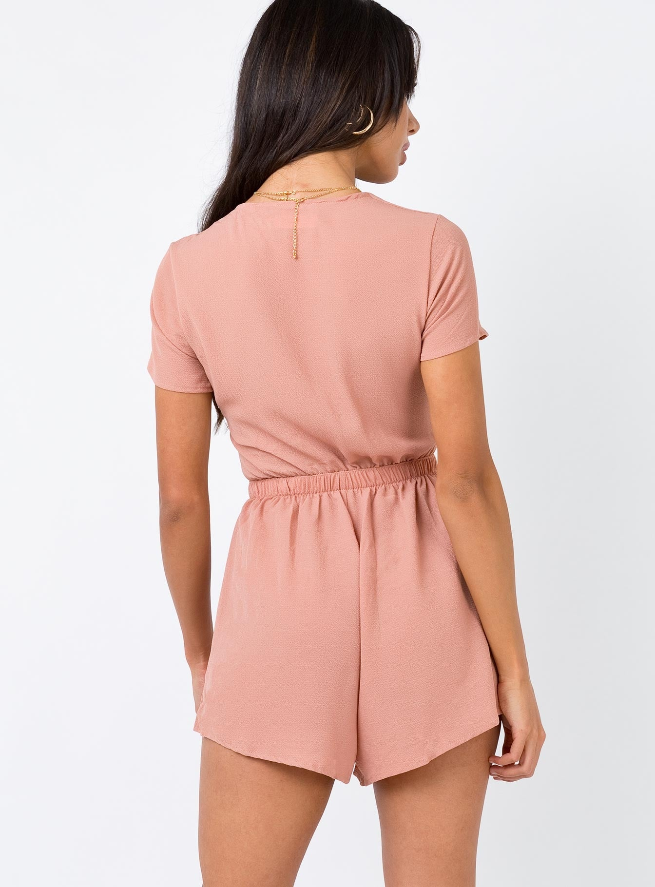 The Kita Playsuit Blush